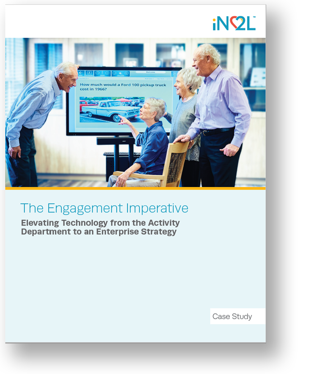 The Engagement Imperative Elevating Technology from the Activity Department to an Enterprise Strategy