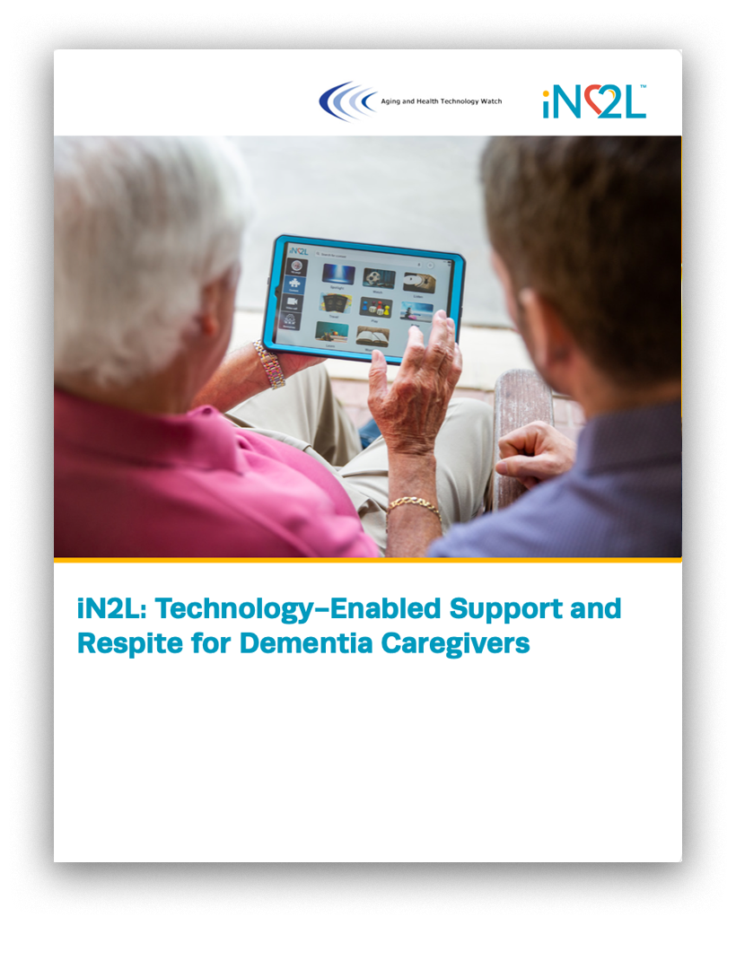 Technology-Enabled Support and Respite for Dementia Caregivers